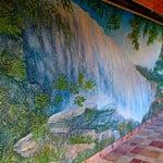 Роспись стен с лепниной