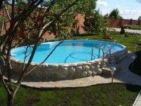 Построить бассейн во дворе дома