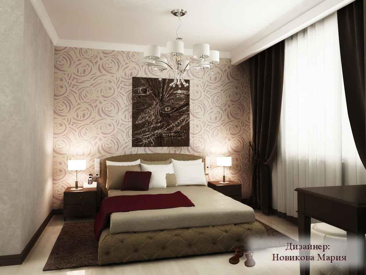 проект спальни дизайн фото