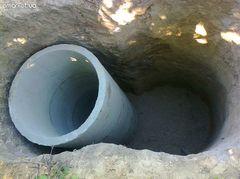 Выкопать яму по септик