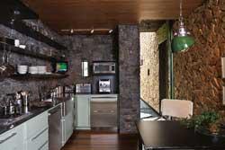 Декоративная отделка кухни