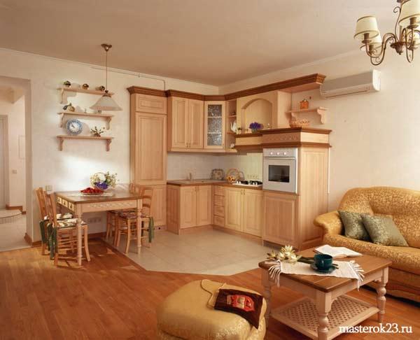 Стиль отделки квартиры Кантри