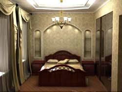 Супер отделка спальни в доме