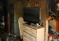 Капитальный ремонт дома после пожара