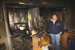 Отделка после пожара