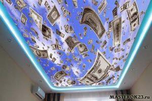Сколько стоят потолки в доме