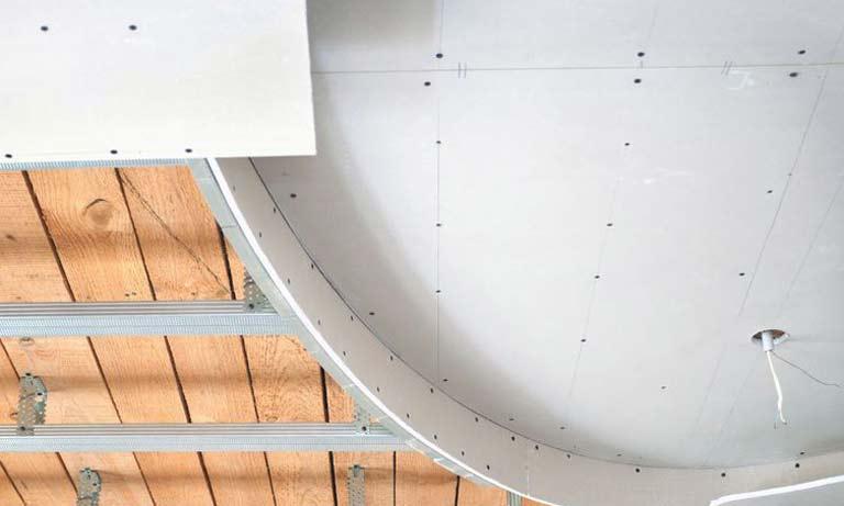 Способы выравнивания потолков гипсокартоном