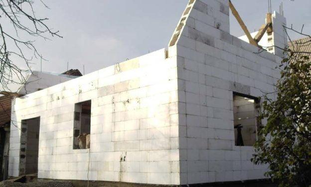 Завершение строительства дома по технологии термодом
