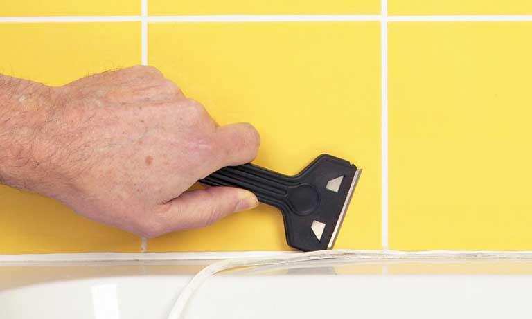 Уход за кафельной плиткой плиткой в ванной комнате