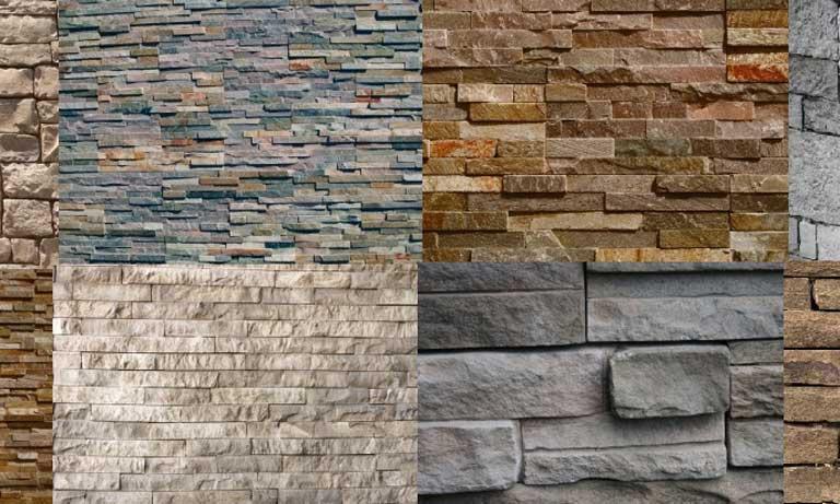 Выбор декоративного искусственного камня для фасада дома