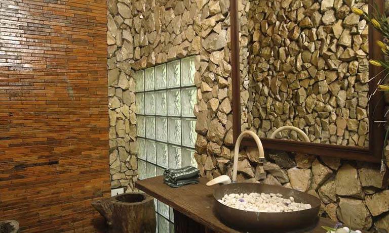 Стало модно использовать натуральный камень в интерьере
