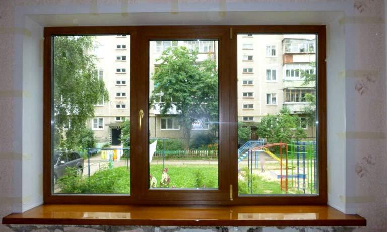 Откосы на окнах из пластика в готовом виде
