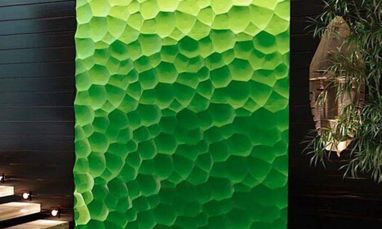 Декорация стен современными материалами