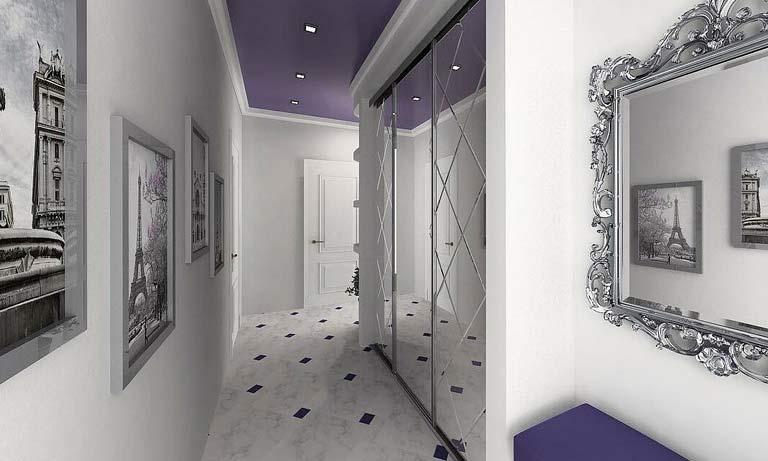 Зеркала в коридоре визуально увеличат пространство