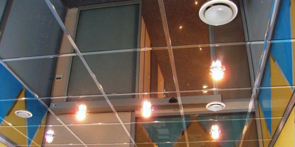 Подвесной металлический потолок Армстронг